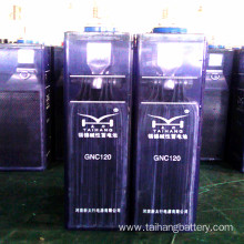 110V 120AH sintered type nickel cadmium battery